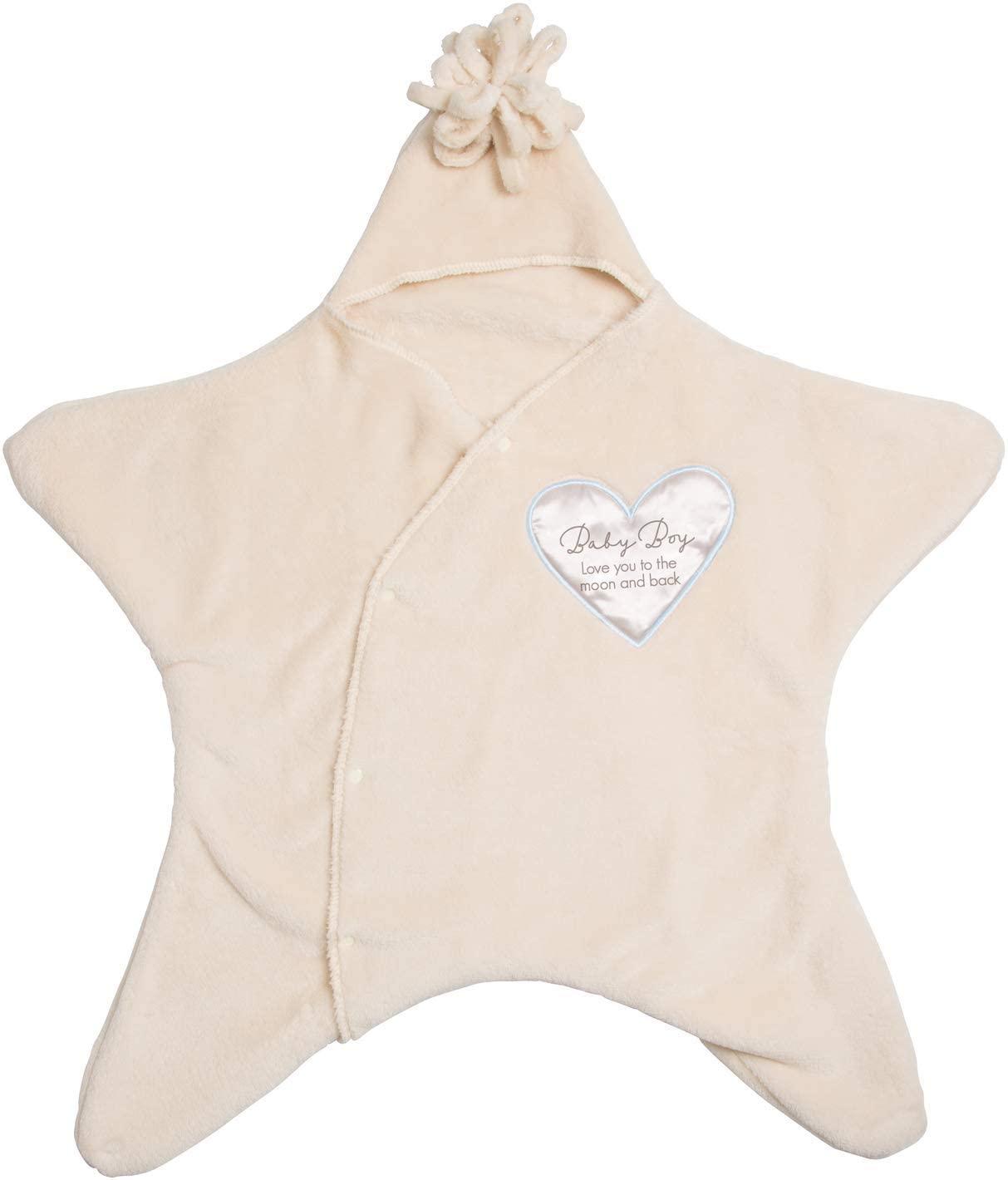 Pavilion Gift Company Baby Boy I Love You Blanket Swaddle