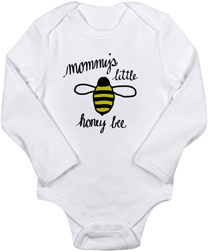 CafePress Mommy's Little Honey Bee Body Suit Baby Bodysuit