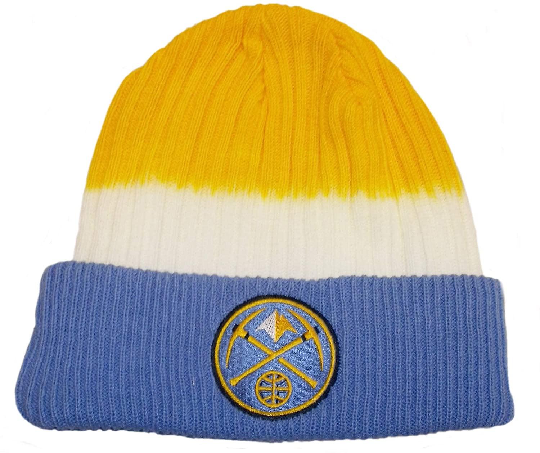 adidas Denver Nuggets Dip Dye Cuffed Knit Hat