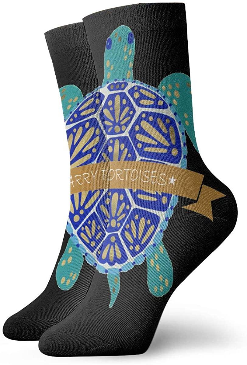 Turtle Short Crew Socks Dress Socks Athletic Socks