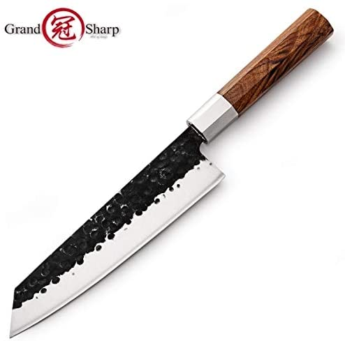 Best Quality Kitchen Knives 2019 Japanese Kitchen Knives Handmade Kiritsuke Knife Chef Cooking Tools Wood Handle Eco Friendly Products