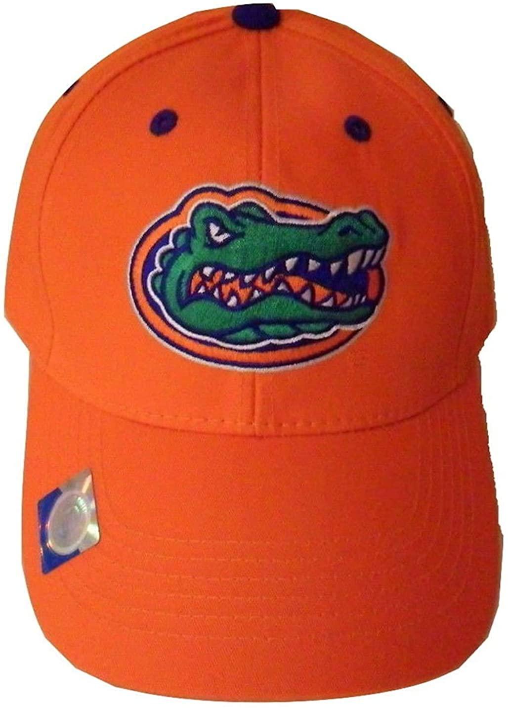 Florida Gators Adjustable Logo Cap - Choose Your Color (Orange)