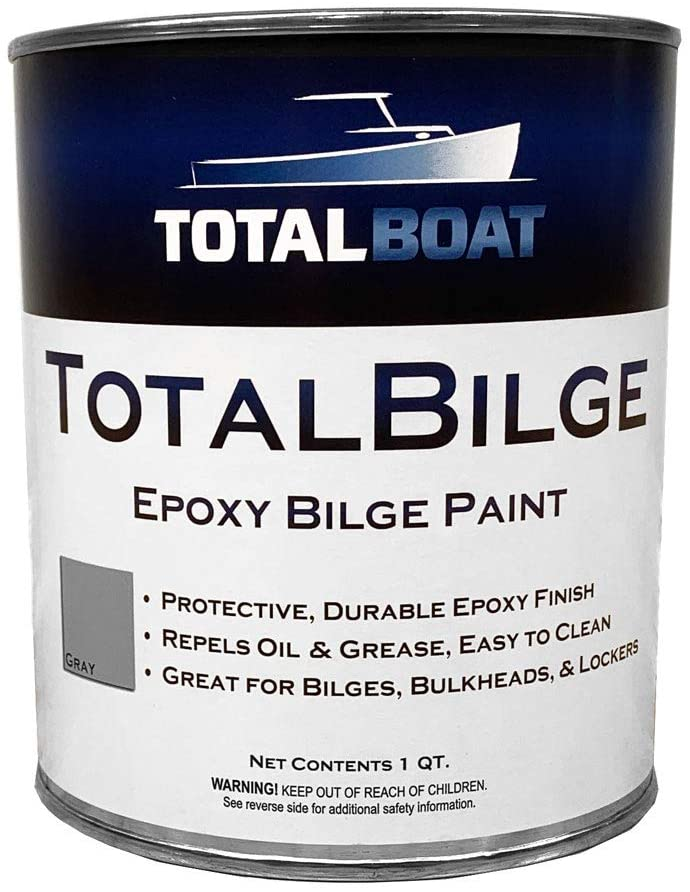 TotalBoat TotalBilge Paint (Gray, Quart)