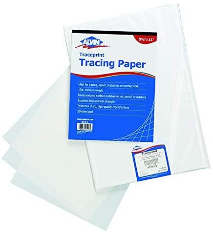 Alvin Paper Tracing Paper (6811-S-8)