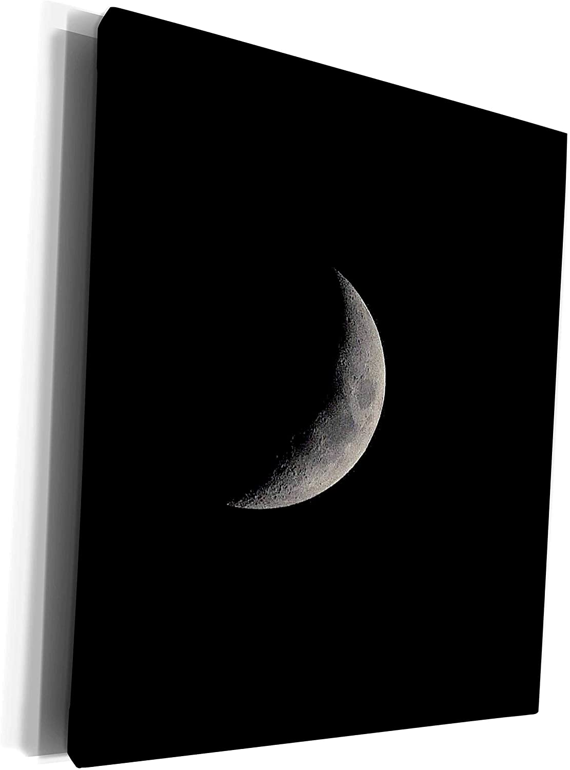 3dRose Dreamscapes by Leslie - Scenery - Waxing Crescent Moon - Museum Grade Canvas Wrap (cw_292236_1)