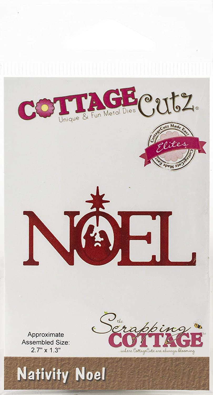 CottageCutz Elites Die Nativity Noel 2.7