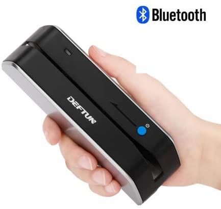 Deftun Bluetooth MSR-X6(BT) MSRX6BT Magnetic Stripe Card Reader Writer Encoder Mini Portable