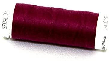 Mettler Seralon Polyester General Sewing Thread 200m 200m 157 Sangria - Each