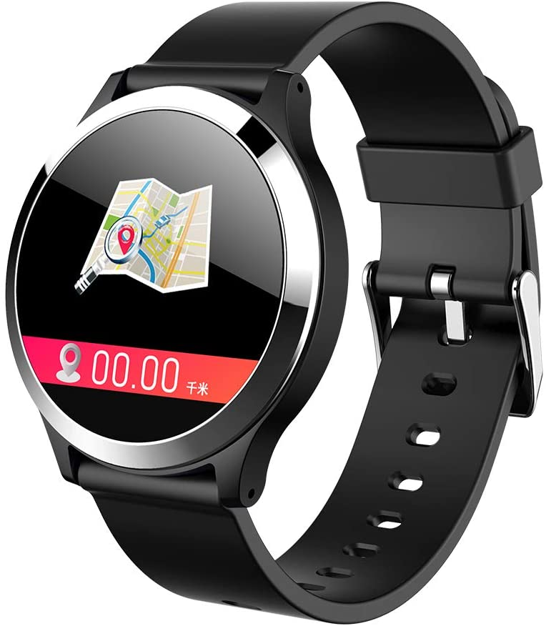 SPARK-X Fitness Tracker, Color Screen Heart Rate Monitoring Watch Intelligent Activity Tracker Calorie Counter Sleep Monitor Female Pedometer Watch Mens Children