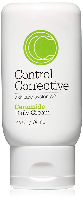 Control Corrective Ceramide Daily Cream | Light, Creamy Moisturizer Designed to Balance Skin | 2.5 oz