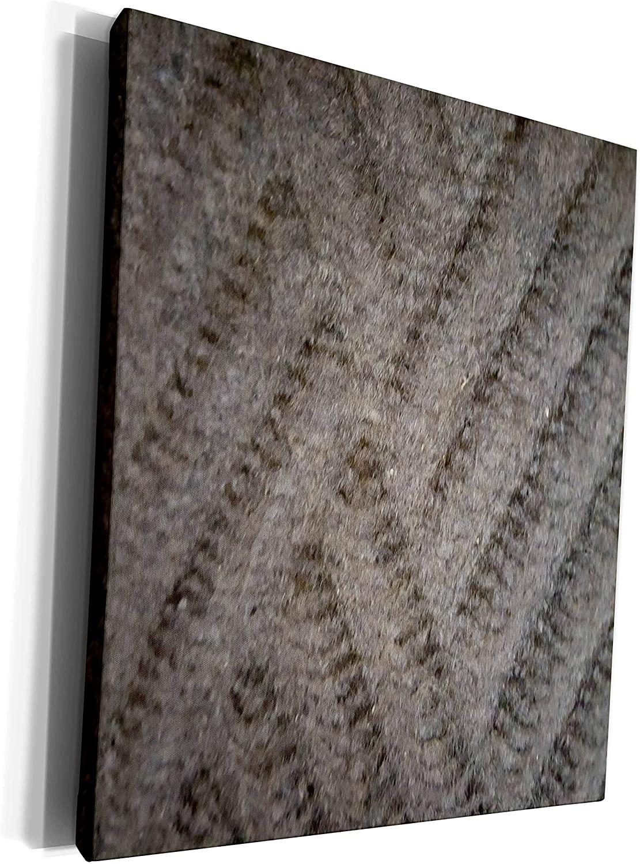 3dRose TDSwhite – Patterns Designs - Doormat Design - Museum Grade Canvas Wrap (cw_281819_1)