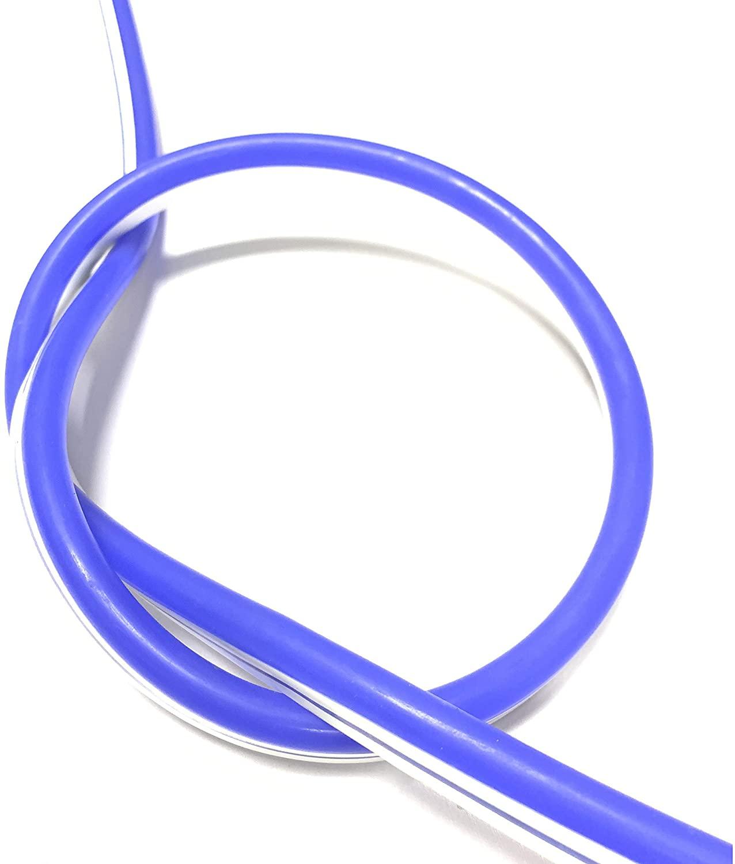 Vasten LED Neon Rope Light LED Flexible Tube Light 12VDC LED Neon Strip Light IP67 Decoration Light (Blue)