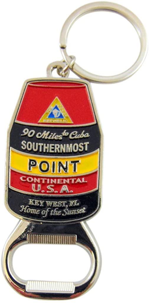 Westman Works Southernmost Point Key Chain Metal Bottle Opener Florida Keys Souvenir Gift