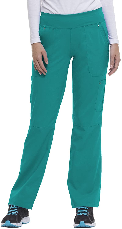healing hands Purple Label Yoga Womens Tori 9133 5 Pocket Knit Waist Pant Teal-XXXXX-Large