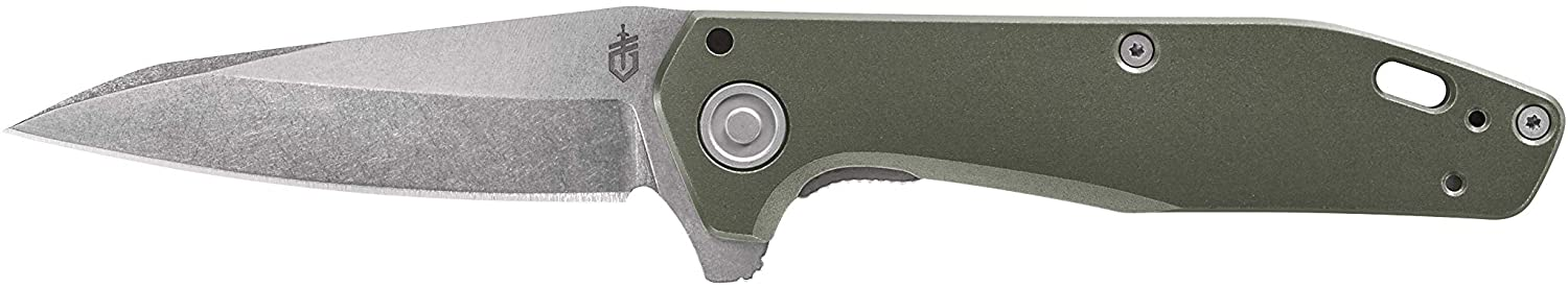 Gerber Fastball Folding Knife with Lock Release - Flat Sage