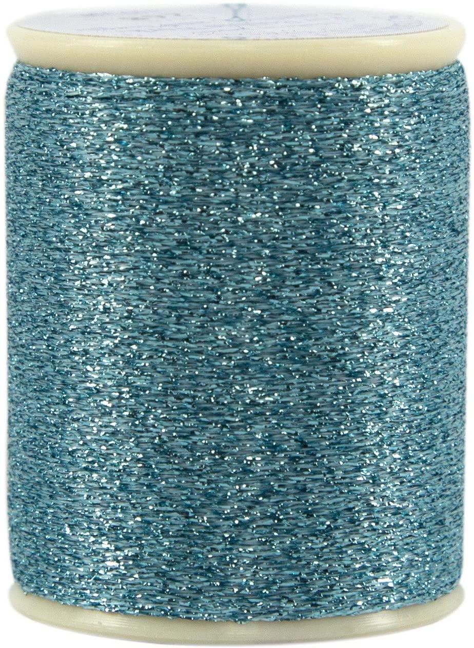 Superior Threads 120012XX268 Razzle Dazzle Tickled Pink 8W Polyester Metallic Thread, 110 yd