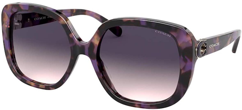 Sunglasses Coach HC 8292 561236 Lavender Tortoise