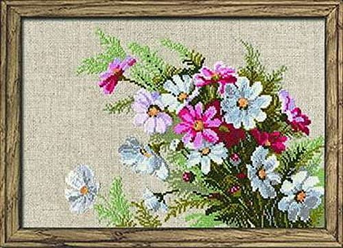 RIOLIS 583 - Cosmos - Counted Cross Stitch Kit 11¾