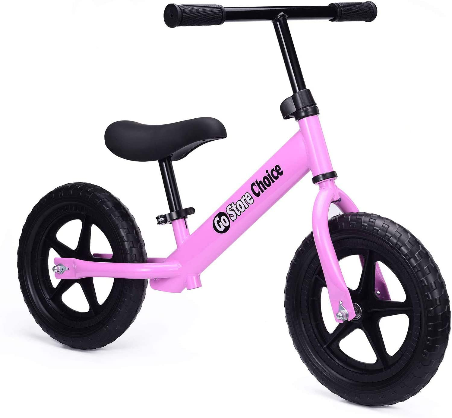 Gostorechoice Kids Balance Bike Boys and Girls 3-6 Years Old with EVA Wheels No Pedal Adjustable Seat