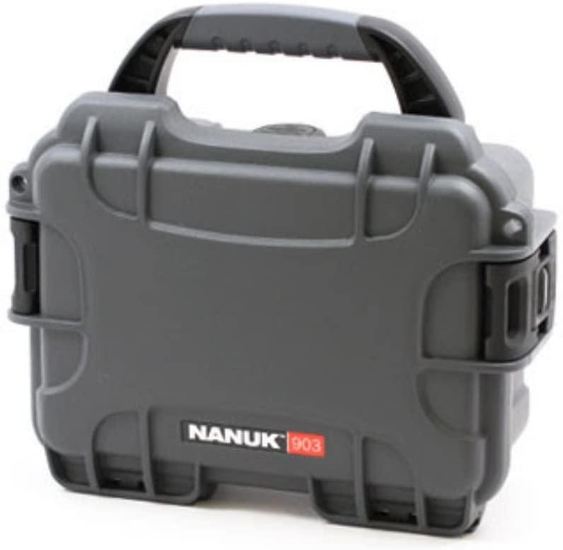 Nanuk 903-1007 Hard Plastic Waterproof Case with Cubed Foam Insert