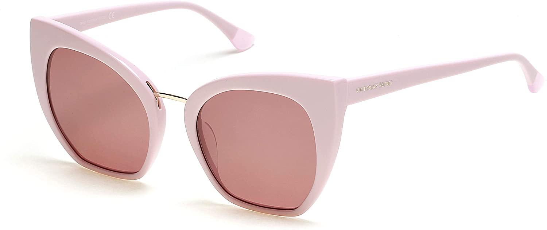 Sunglasses Victoria's Secret VS 0046 -H 72Y Pink With Lens, Gold Metal