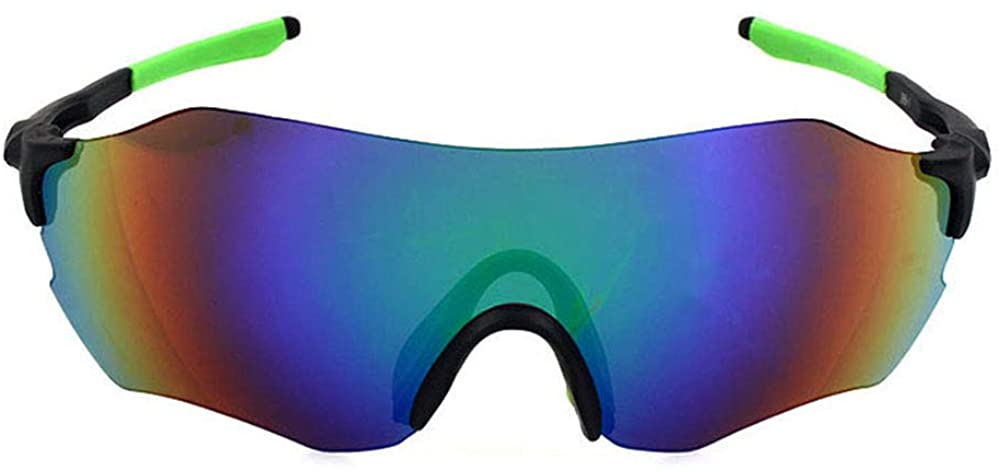 Eforstore Women's Sunglasses Cycling Eyewear Protection Goggles Ski Driving Ultra Light Night Vision Frameless Goggles