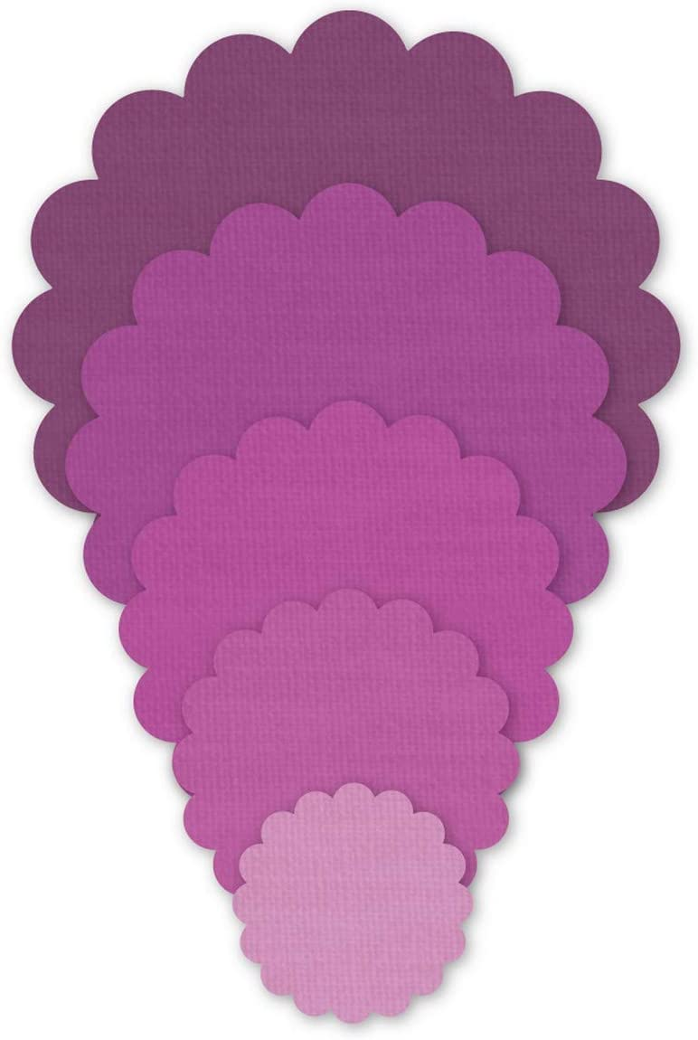 Crafter's Edge Q1076 Scalloped Circles