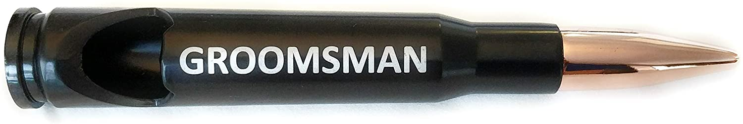 Groomsmen Gifts Best Man Proposal Bullet Bottle Opener Wedding Favor (Groomsman)