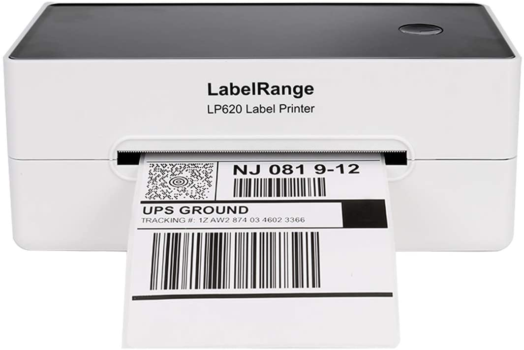 Upgrade2.0 LabelRange 300DPI Thermal Label Printer - Label Printer 4x6 - Shipping Label Printer,Support DHgate Paypal Shopify Etsy Shippo and More On Windows&Mac,Home Office&Businesses Organization