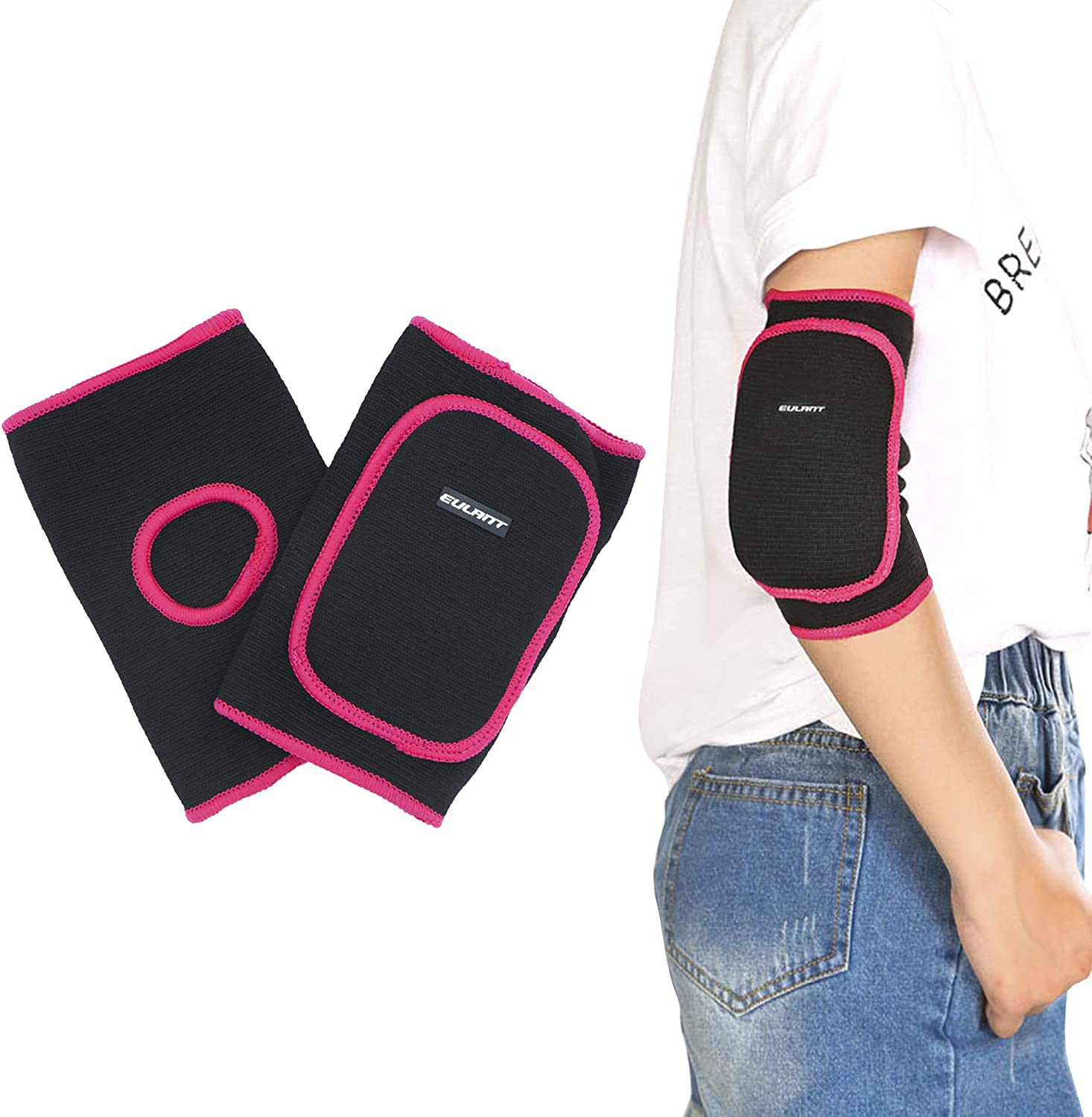 Sborter Volleyball Knee Pads/Elbow Pads for Kids Junior Youth, 1Pair