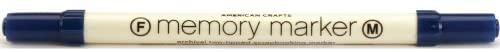 American Crafts Fine/Medium Point Open Stock Memory Marker, Denim