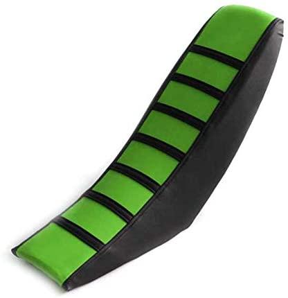 Gripper Soft Seat Cover For Kawasaki KX65 KLX110 KX85 KX100 KX125 KX250 KLX300 KLX250/F KX450/F (Green)