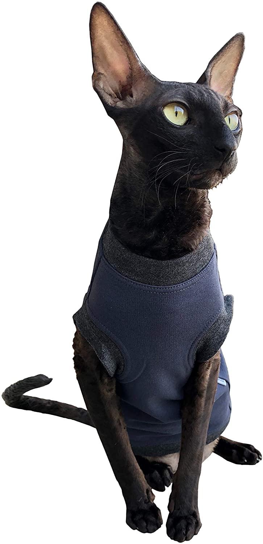 Kotomoda cat wear T-Shirt Dark Blue Boss