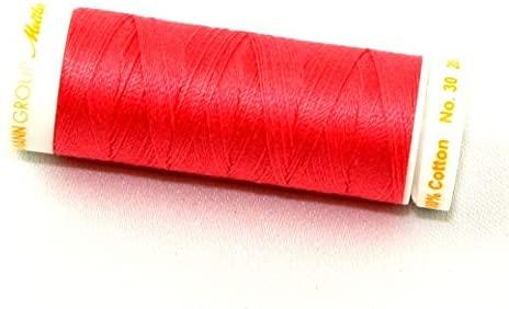 Mettler No 30 Machine Embroidery Quilting Thread 200m 200m 806 Persimmon - each