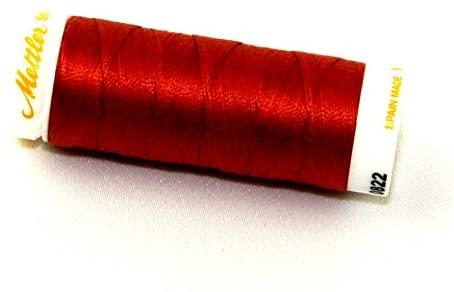 Mettler No 30 Machine Embroidery Quilting Thread 200m 200m 822 Reddish Ocher - each