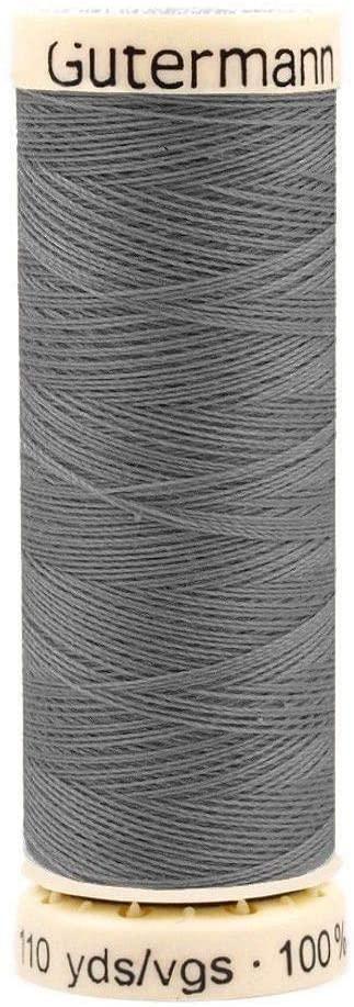 1pc Steel Gray Gütermann Universal Polyester Thread 100m, Threads, Sewing, Haberdashery