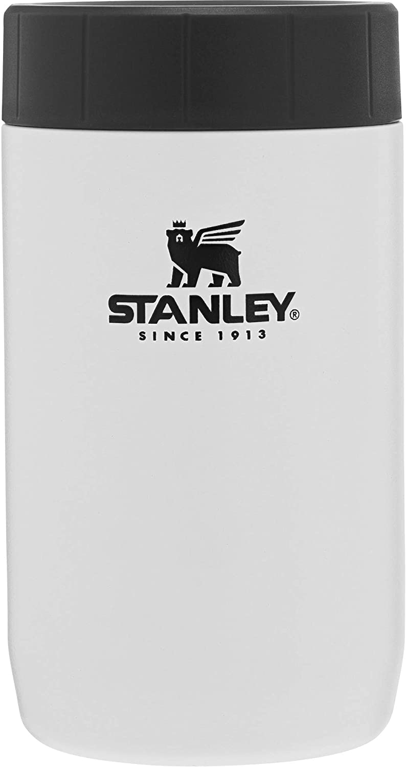 Stanley Classic Legendary Vacuum Insulated Food Jar 14 oz – Stainless Steel, Naturally BPA-Free Container – Keeps Food/Liquid Hot or Cold for 15 Hours – Leak Resistant, Easy Clean