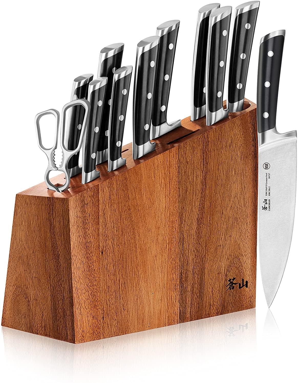 Cangshan S Series 60140 12-Piece German Steel Forged Knife Block Set