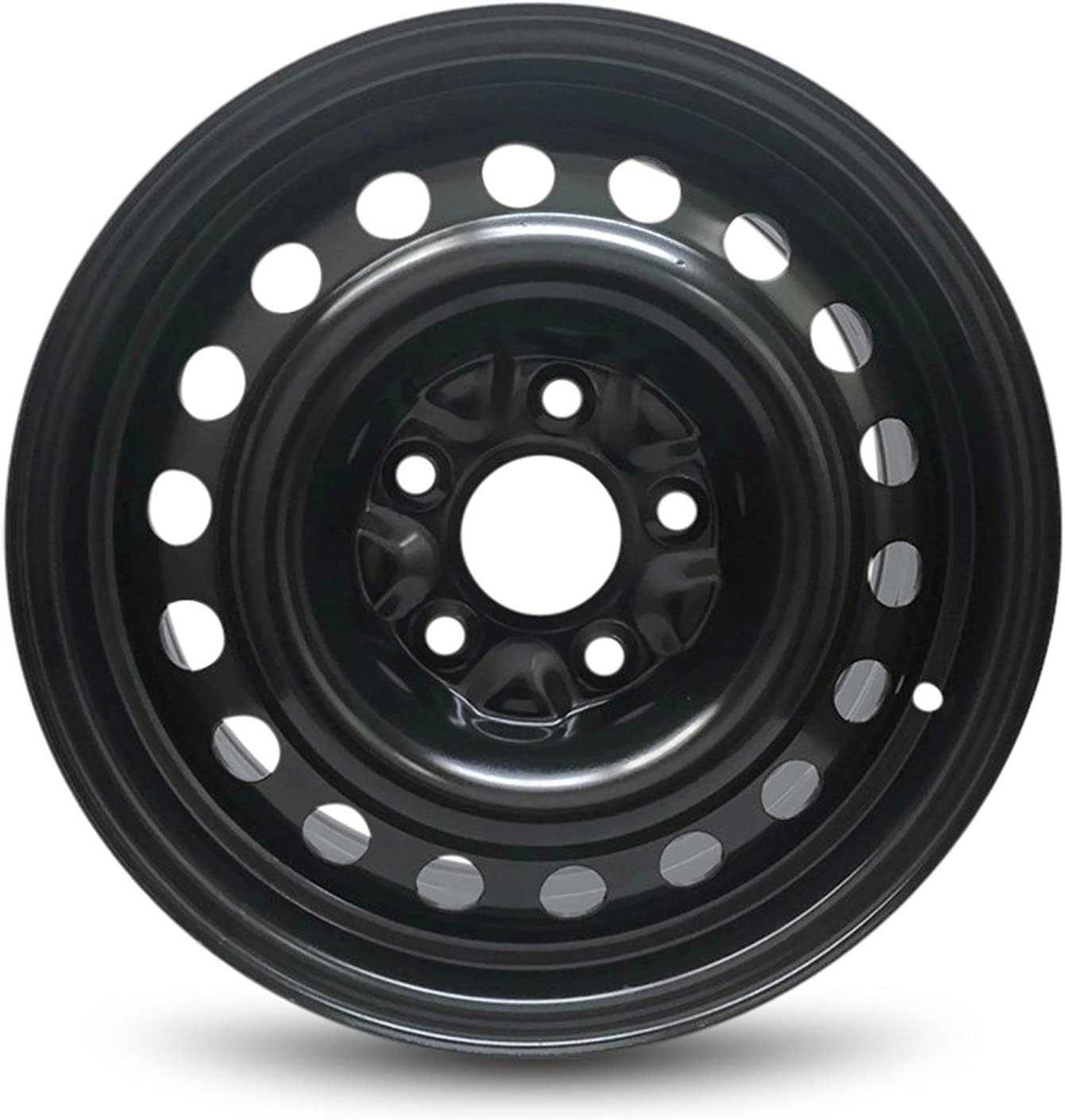Road Ready Car Wheel For Dodge Caravan (08-13) And Chrysler Town & Country (08-10) 16 Inch 5 Lug Steel Rim Fits R16 Tire - Exact OEM Replacement - Full-Size Spare