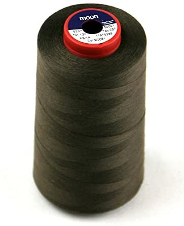 Coats Moon Polyester Sewing Thread Cone 4500m Brown - Each