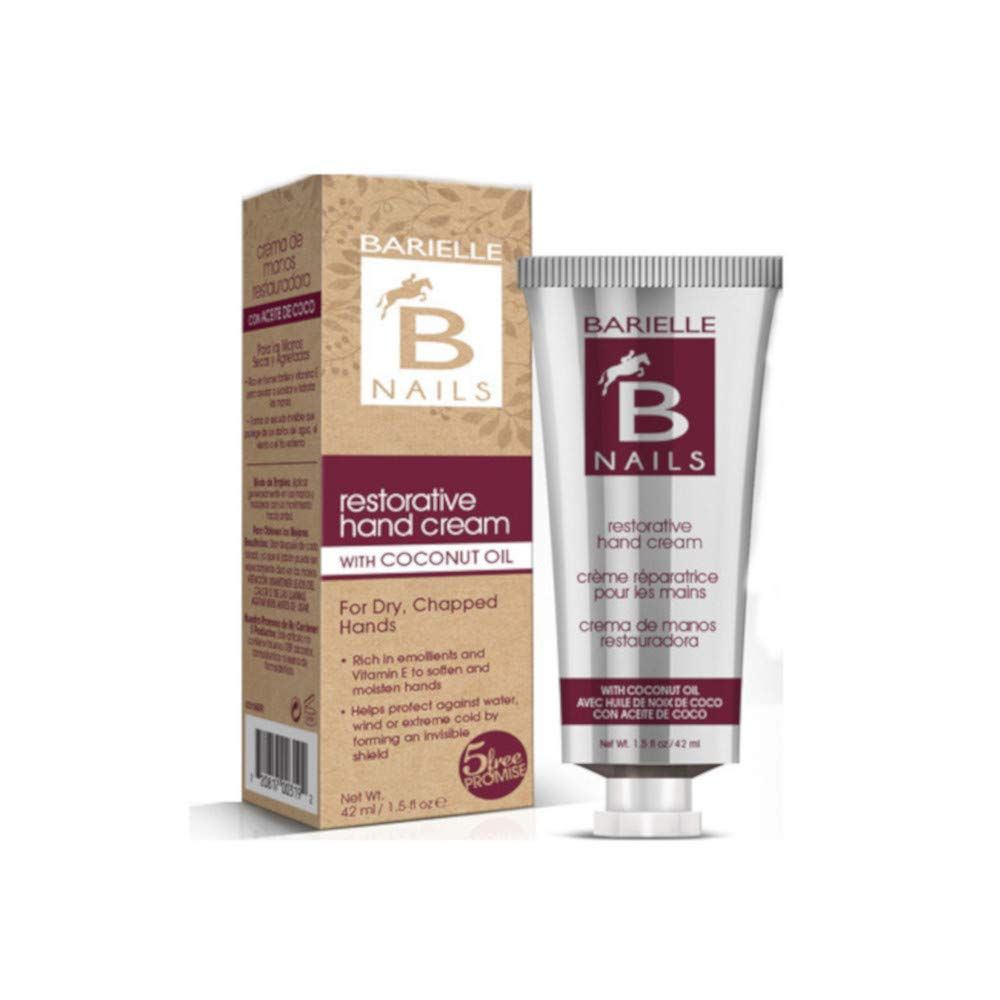 Barielle Restorative Hand Cream with Coconut Oil 1.45 ounce (2-Pack)