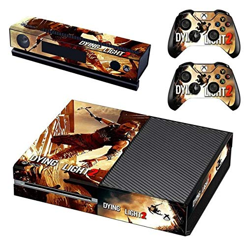 okanhyeu Vinyl Skin Sticker Cover Decal for Microsoft Xbox One Console and Remote Controllers Zombie HD Printing
