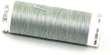 Mettler Seralon Polyester General Sewing Thread 200m 200m 1140 Sterling - each