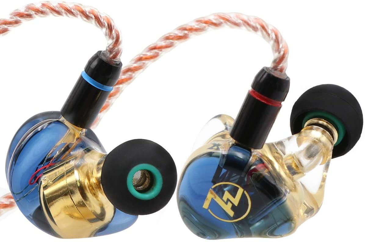 Linsoul 7HZ i-77 Dynamic Driver HiFi in-Ear Earphone IEMs with Detachable MMCX Cable