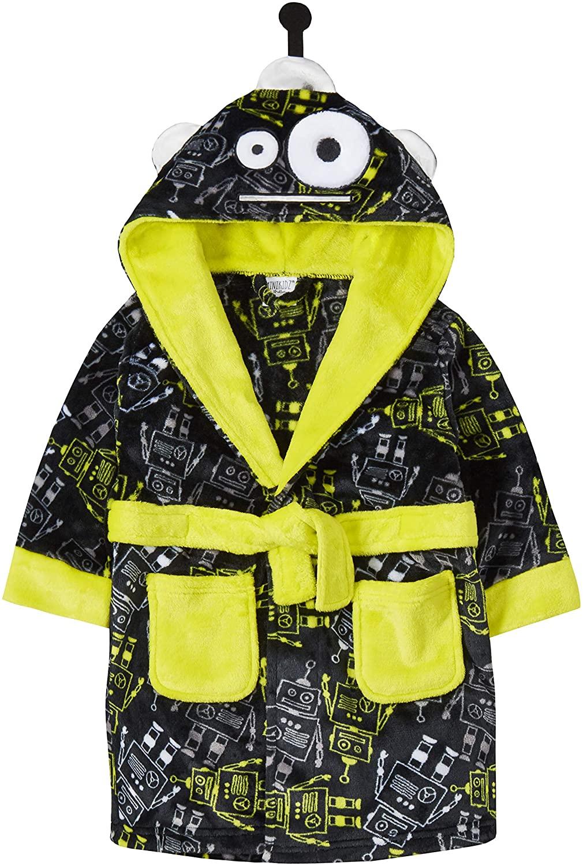 Childrens/Boys Novelty Robot Dressing Gown