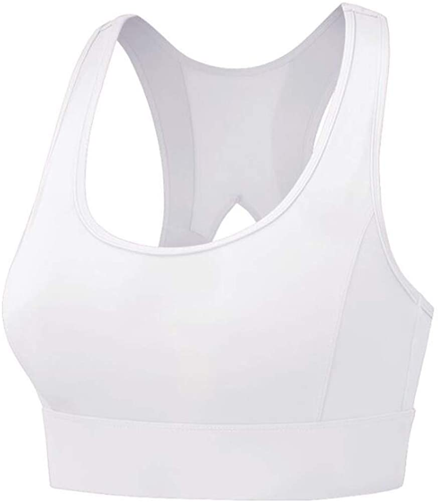 Beninos Racerback Sports Bras for Women- Padded Seamless High Impact Support for Yoga Gym Workout Fitness