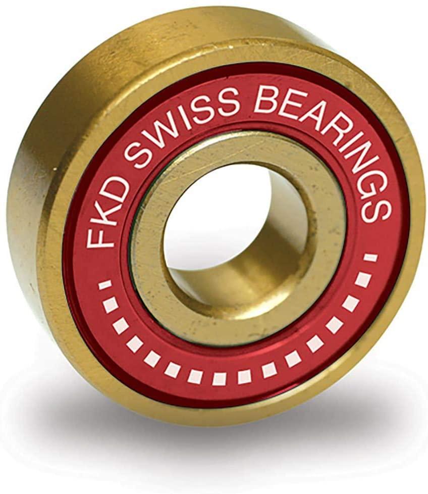 FKD Swiss Gold Skateboard Bearings