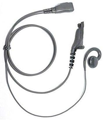 Lapel Microphone Earpiece Headset for Motorola DP4800 Two Way Radio