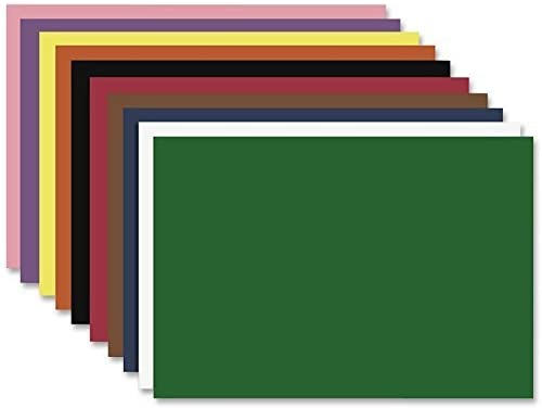 Nature Saver 22305 Construction Paper, 12-Inch x18-Inch, 50/PK, Assorted