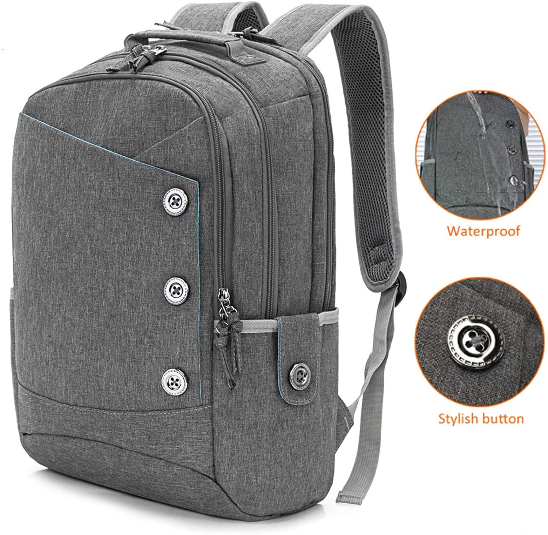 15.6 Inch College Backpack for Women Men Laptop Backpacks Commute Bag School Bag Bookbag Casual Daypack Backpack for Work